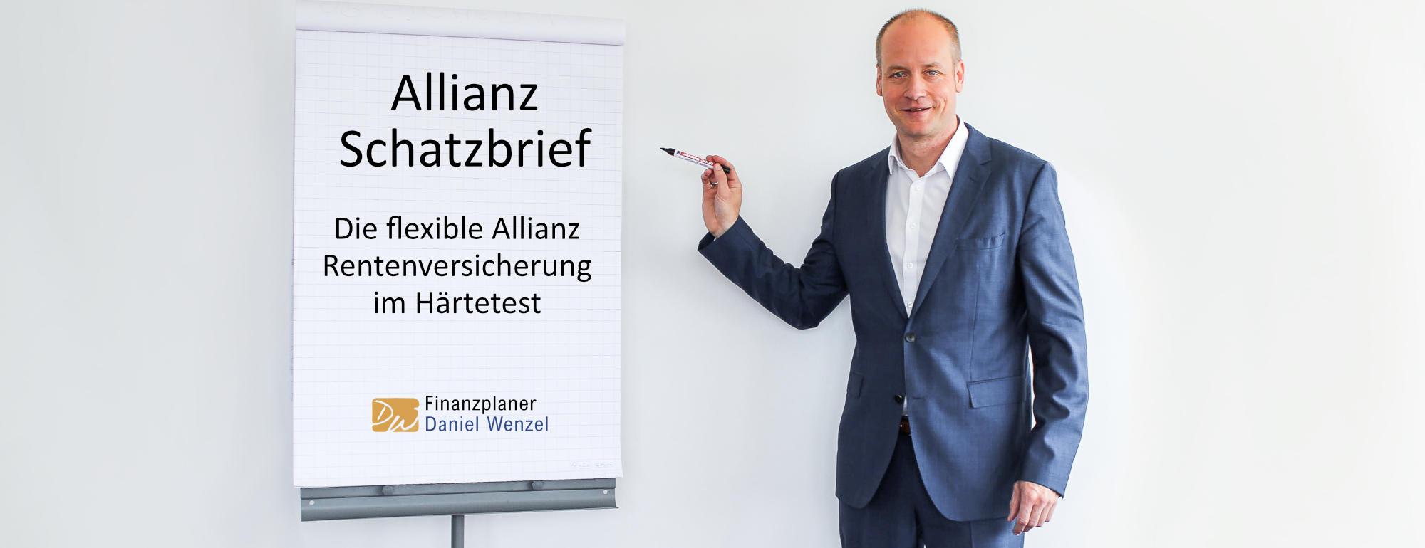 Allianz Schatzbrief - Die flexible Allianz Rentenversicherung im Härtetest