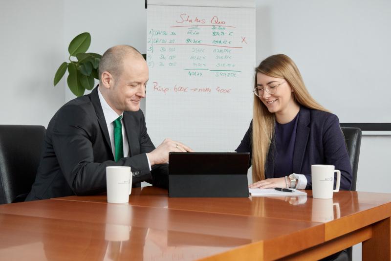 Daniel Wenzel Finanzplaner bei der Kundenberatung