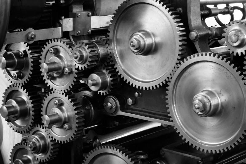 Finanzberatung ist wie ein Getriebe