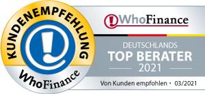 WhoFinance Top-Berater 2021